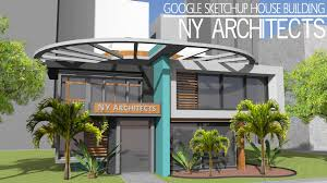 Home Design Using Sketchup by Google Sketchup Speed Build New York Architects Youtube