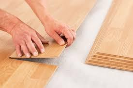 laying click lock laminate flooring