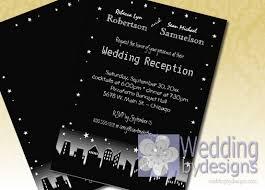 wedding reception only invitations reception only wedding invitations