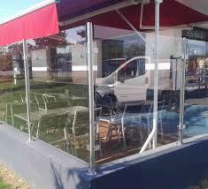 brise vent transparent installation de brises vue et claustras en drôme ardèche sg concept