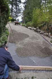 gravel pathway coregravel creates a naturally porous stabilizing