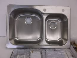Kitchen Sink Stainless by Kitchen Sinks Farmhouse Glacier Bay Sink Double Bowl Rectangular