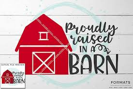 Raised In A Barn Scribblemoma Design Bundles