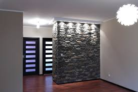 interior stone wall decoration ideas charming living room design