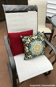 Sling Patio Chairs Outdoor Makeover How To Replace Patio Furniture Slings