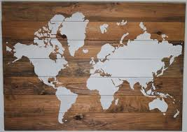 wood wood maps world maps on wood world map wood sign
