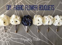 bouquet diy diy fabric flower bouquets signed by soden