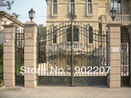 home gate design 2016 furniture security used wrought iron door gate designs jpg 350x350