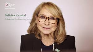 felicity kendal hairstyle donate to royal voluntary service felicity kendal youtube