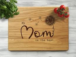 cooking gifts for mom birthday gifts for mom cutting board mother day gift custom