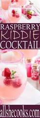 raspberry kiddie cocktail recipe