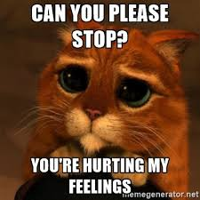 Hurt Feelings Meme - how can i stop someone from hurting me when they don t care about my