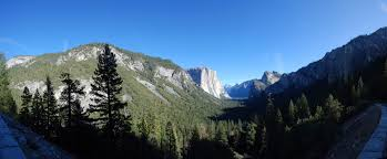Map San Francisco To Yosemite National Park by Panoramic Photography Jacob Rosen California