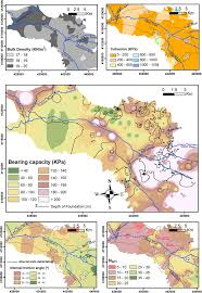 Granada Spain Map by Geotechnical Map Of Holocene Alluvial Soil Deposits In The
