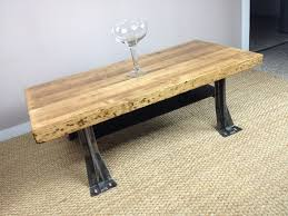 coffee table stunning butcher block coffee table design ideas coffee table elegant brown rectangle rustic metal and wooden butcher block coffee table idea as