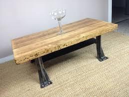 coffee table stunning butcher block coffee table design ideas