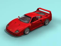 model f40 f40 3d model max