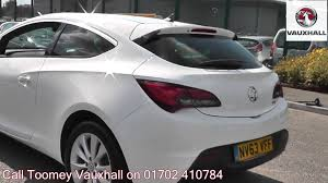 opel astra gtc 2014 2014 vauxhall astra gtc sri 1 4l white nv63vff for sale at toomey