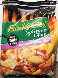 Green Root Vegetables - fire roasted by green giant root vegetables with red onions