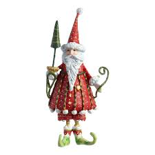 patience brewster mini dashing santa ornament bloomingdale s