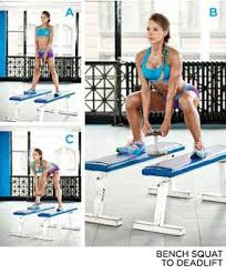 Bench Squat Deadlift The Secret To Gorgeous Glutes Glutes Squat And Exercises
