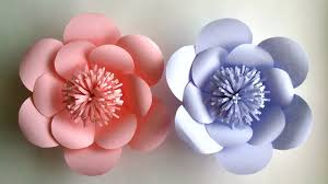 paper flowers how to make paper flowers paper flower tutorial step by step