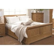 Oak Sleigh Bed Buy Wooden Beds Oak Beds White Beds Beds On Legs