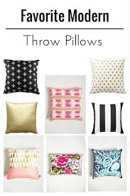 Contemporary Throw Pillows For Sofa by Favorite Modern Decorative Pillows Diycandy Com