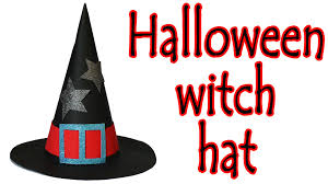 halloween crafts how to make a witch hat ana diy crafts