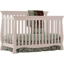 Convertible Crib Plans by Storkcraft Carrara 4 In 1 Convertible Crib Cherry Walmart Com