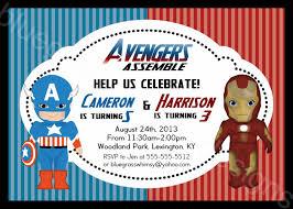 avengers birthday party invitations printable disneyforever hd