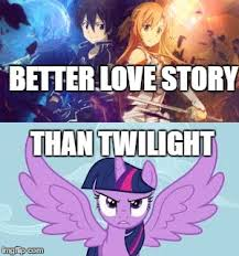 Best Mlp Memes - sao is best anime imgflip