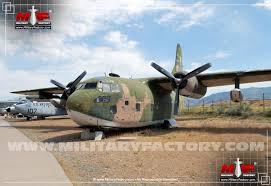Fairchild Fairchild C 123 Provider Military Transport Aircraft