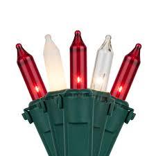 Red And White Christmas Lights Multi M5 Christmas Lights
