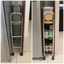 top of fridge storage how to create space where there is none say what