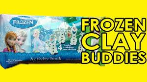 disney frozen mini clay buddies olaf clay u0026 activity book