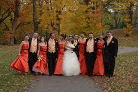 bridesmaid dresses colors fall