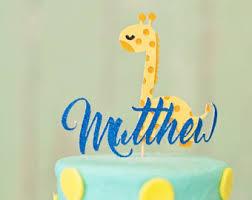giraffe smash cake etsy