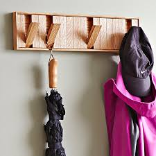 hidden hook coat rack woodworking plan in just a weekend you can