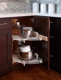 Ingenious Organizing Ideas For Corner Cabinets Kitchn - Lazy susan kitchen cabinet plans