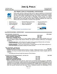 Quality Control Manager Resume Sample by Qa Manager Resume Doc