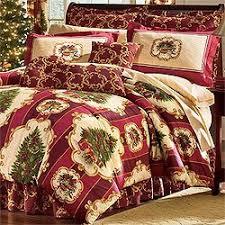 Duvet Set King Size Amazon Com Christmas Tree Holiday Bedding Set 4pc Comforter Bed