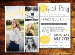 graduation open house invitation modern graduation card design mustard gray open house invite