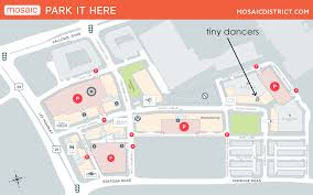 mosaic district map directions tiny dancers