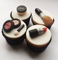 makeup cake toppers mac makeup cupcake toppers pinteres