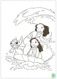 86 lilo en stitch images disney coloring pages