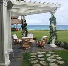 Attached Pergola Kits by The 4 Beam Free Standing Pergola Kit Is A Solidly Built Kit Using
