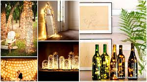 Home Decor Light 23 Mesmerizing Starry String Light Projects For A Magical Home