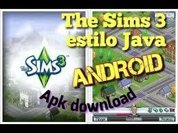 sim 3 apk the sims 3 estilo java para android apk