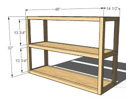 Console Bookshelves by Ana White Parson U0027s Style Bookshelf Diy Projects